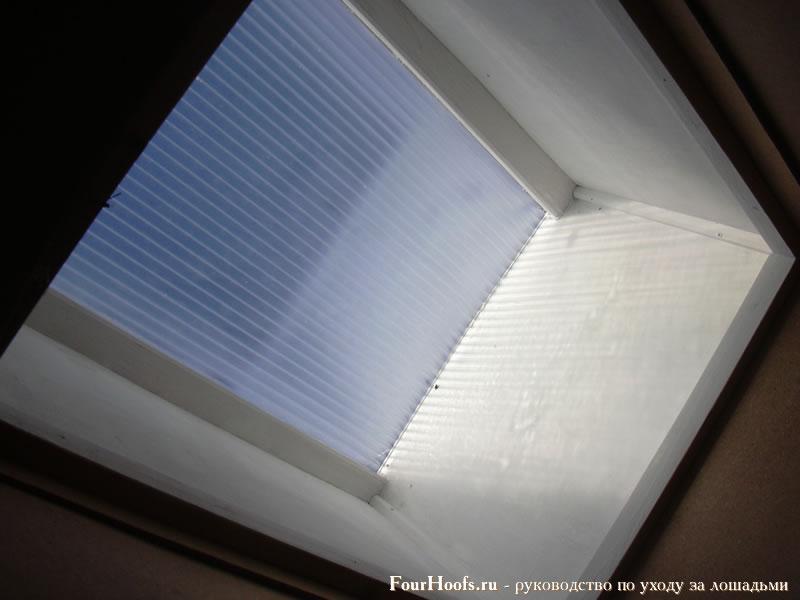 Окно из поликарбоната